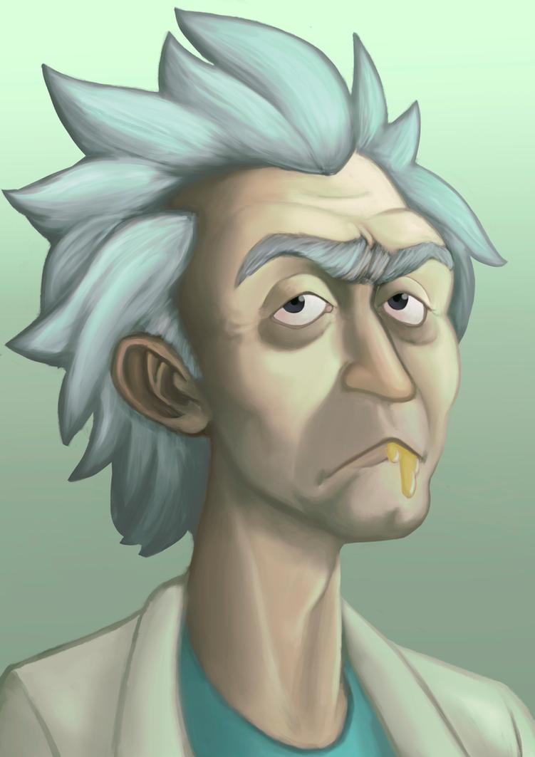 Rick by MartianBean