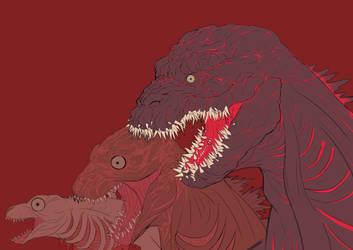 Shin Godzilla by MartianBean