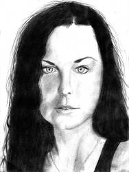 Amy lynn lee evanescence by YvdlArt