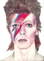 David Bowie by YvdlArt