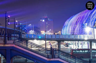 Poznan Lights by mizarek