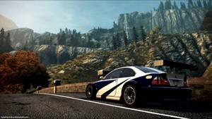 BMW M3 GTR E46 NFS Most Wanted 2012