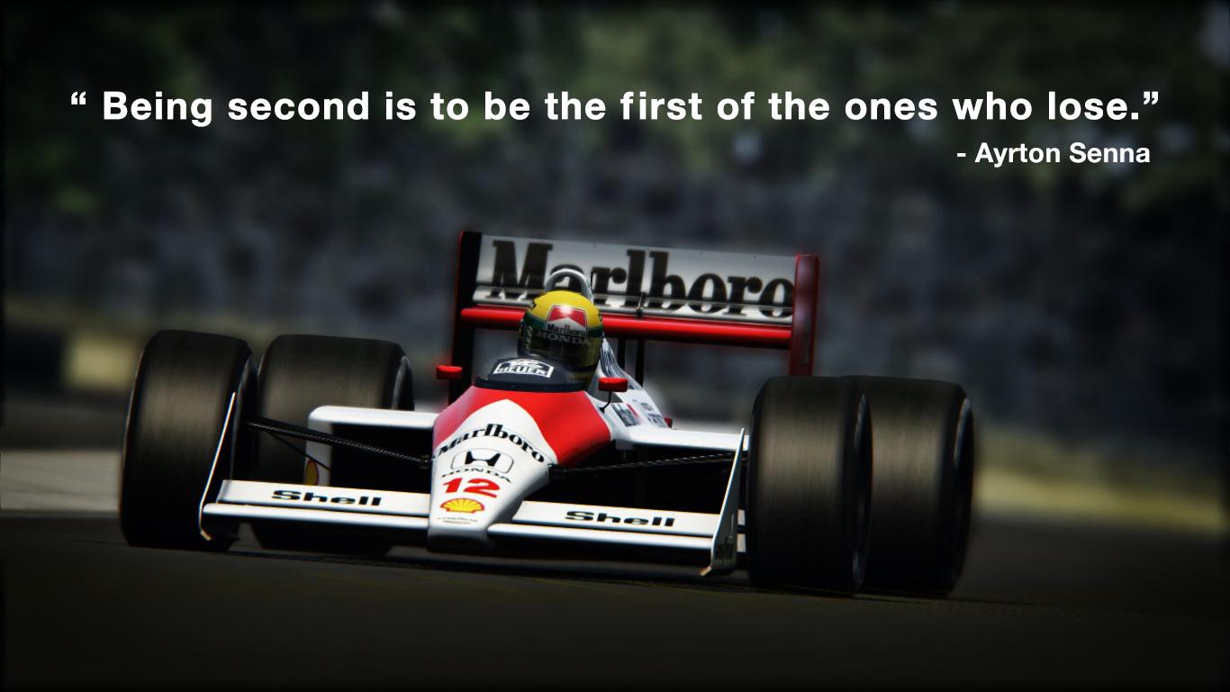 Ayrton Senna Quote Wallpaper By Iqbalherindra On Deviantart
