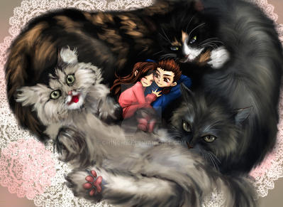 3catsmall by Ch1nChEn