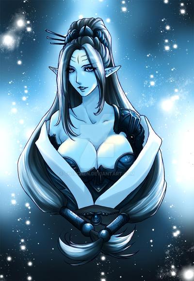 Armor Lady - Shimi'lande Val'Kyorl'solenurn by Ch1nChEn