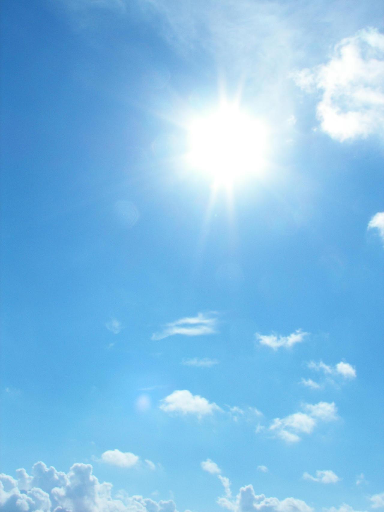 Bright Sky 5 - Into the sun