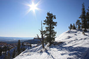 Bryce Canyon Winter Sun background 1 by photohouse