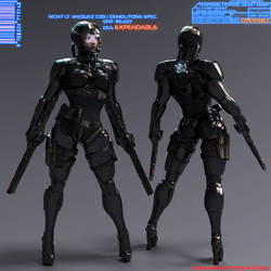 Temporal Control Agent Personnel File by 666markofthebeast666