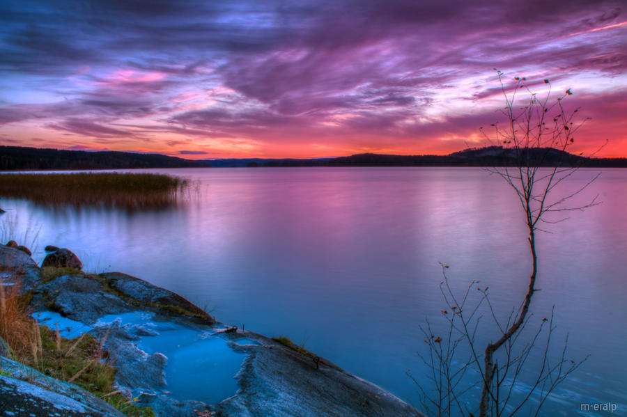 October sunset by m-eralp