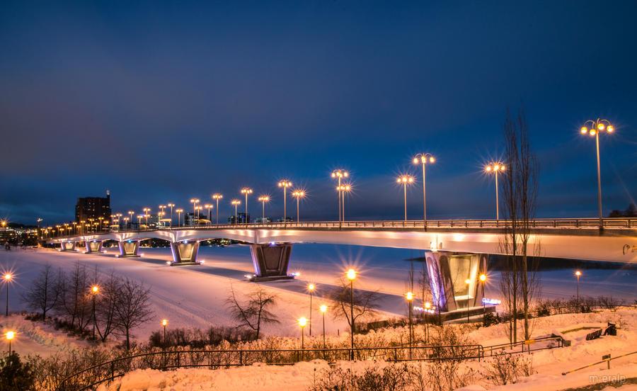 Kuokkala Bridge by m-eralp