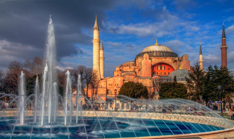 Hagia Sophia by m-eralp