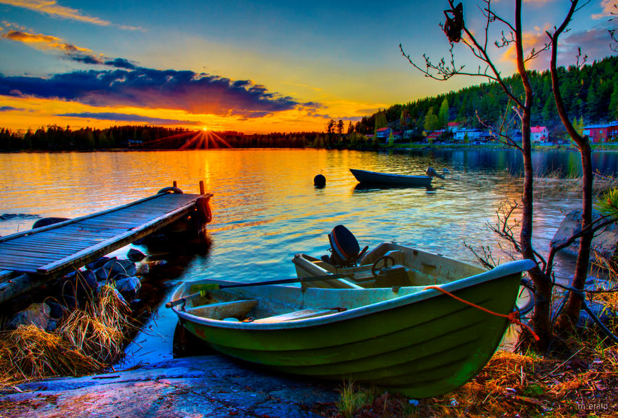 When the sun sets ... by m-eralp