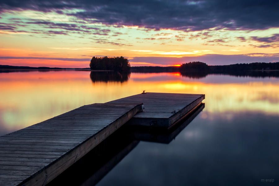 At dusk by m-eralp