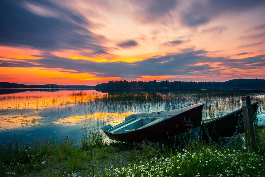 Finnish midnight by m-eralp