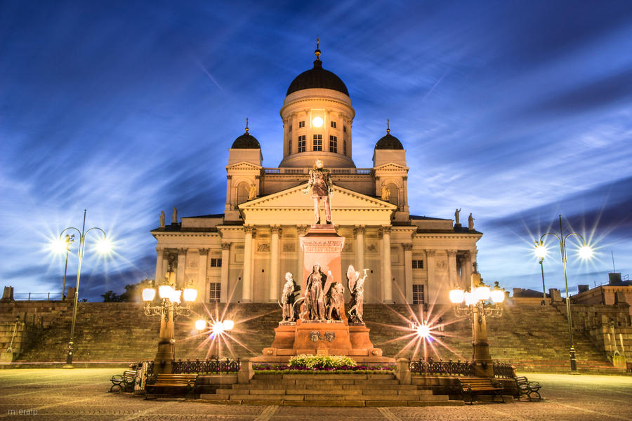 Helsinki Cathedral by m-eralp