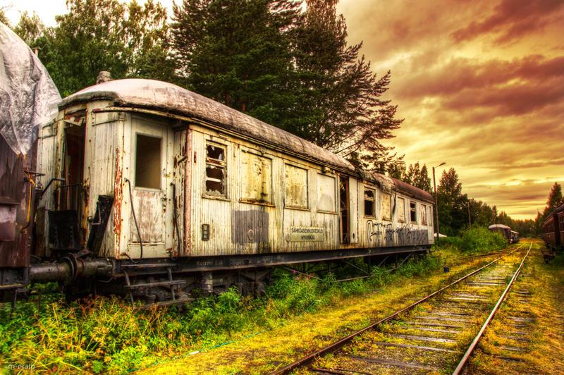 Train wreck by m-eralp