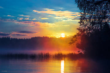 Cold Sunrise II