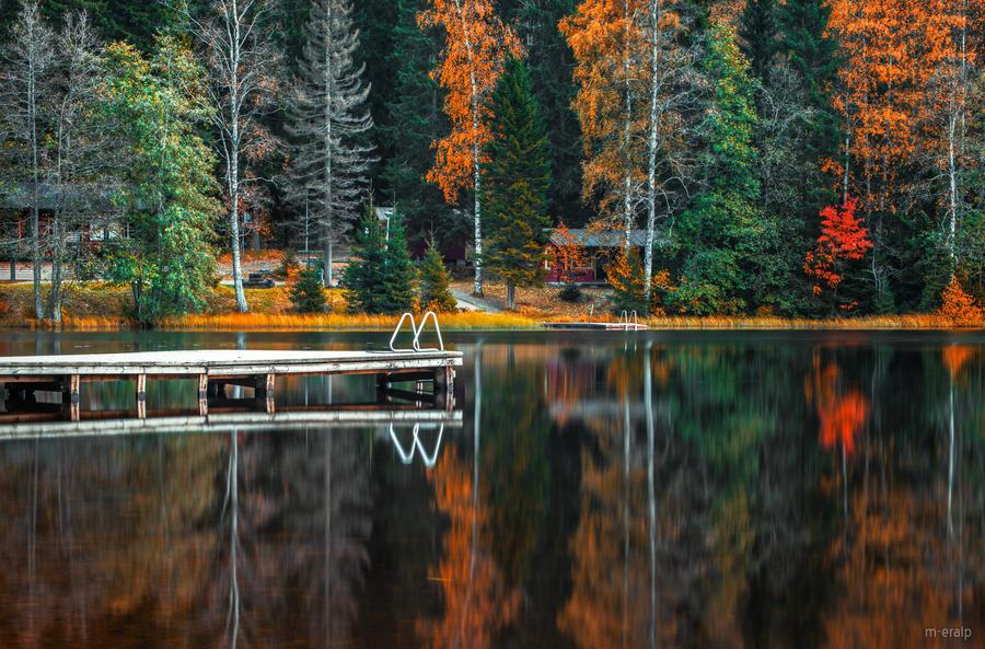 Reflected stillness by m-eralp