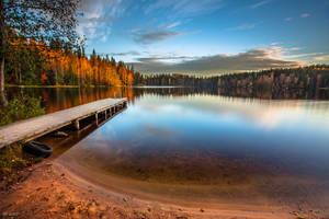 Autumnal evening by m-eralp