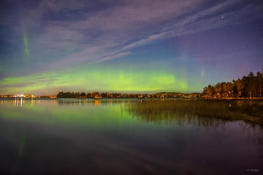 Aurora Borealis by m-eralp