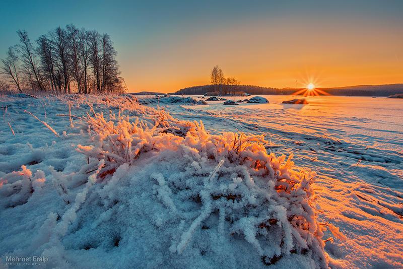 Winter sunset by m-eralp