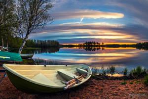 Spring sunrise by m-eralp