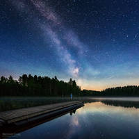 Milky way in Harjunlahti by m-eralp