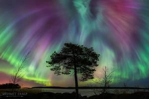 Auroral Fireworks by m-eralp