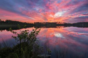 Sunrise in Kivilampi by m-eralp