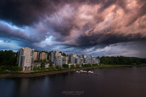 Cloudy evening by m-eralp