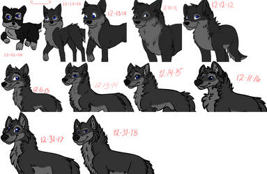 12 Yearss of Improvement by Iceshadow13