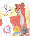 The Aristocats family portrait