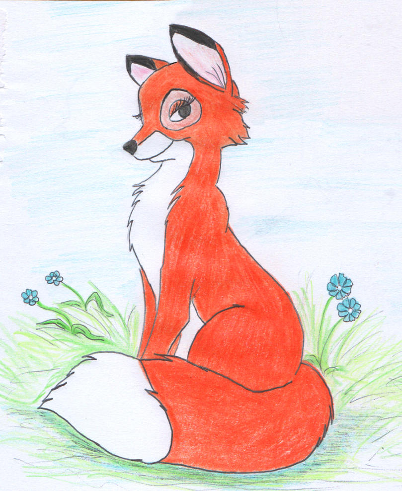 Vixey in the forest by greydeer2010