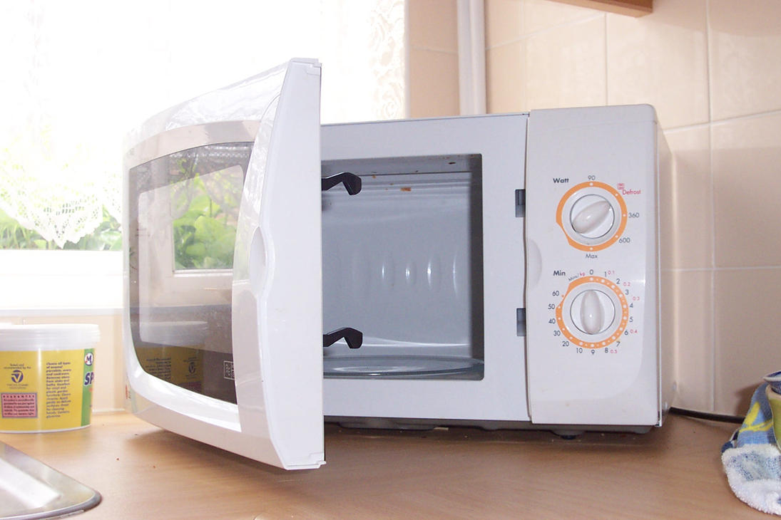 microwave by syrustock