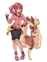 Pokemon Ranger Kim