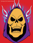 Flaming Skeletor