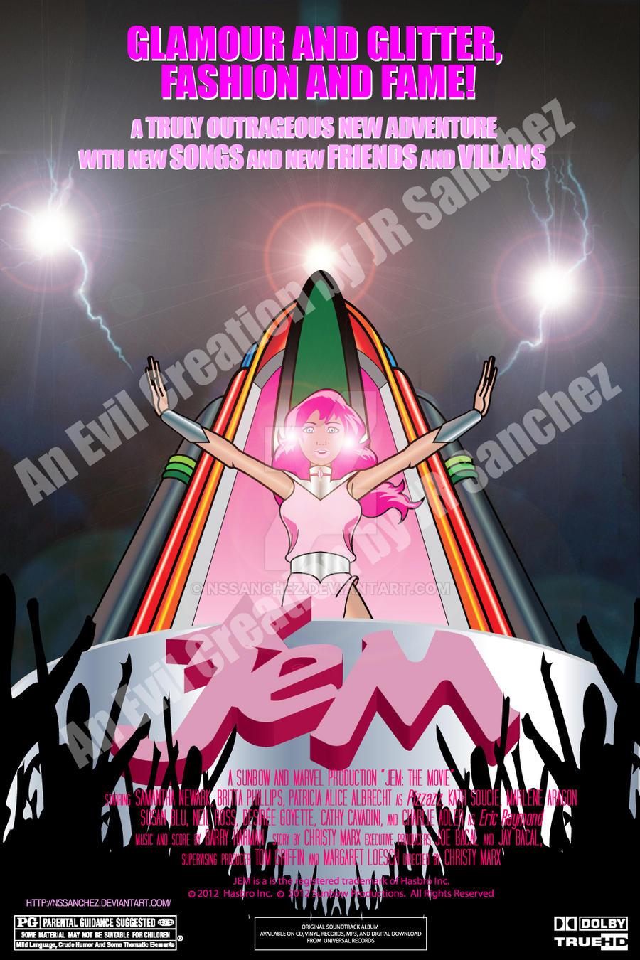 JEM The Movie Poster by NSSanchez on DeviantArt