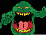 Slimer from THE REAL GHOSTBUSTERS