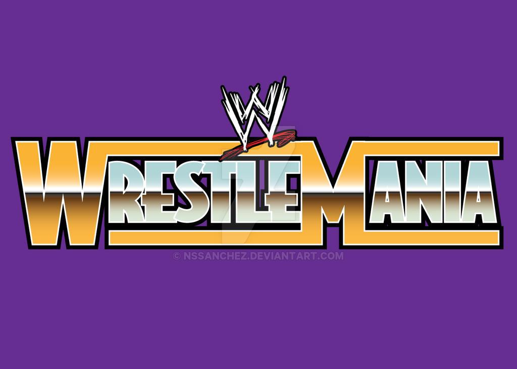 WrestleMania Custom Logo by NSSanchez on DeviantArt