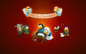 Christmas Tux 2007 by Klowner