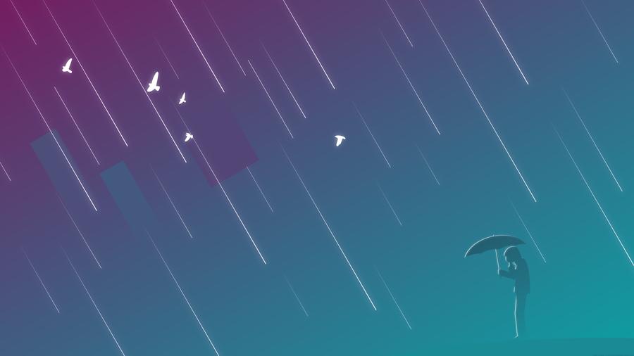 When It Rains by Klowner