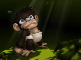 Little Stinky Chimp