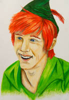 Peter Pan by MissMachineArt
