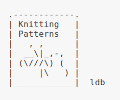 ASCII Knittng by ThatGrrl