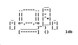 ASCII Art Computer by ThatGrrl