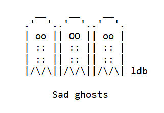 Sadghosts