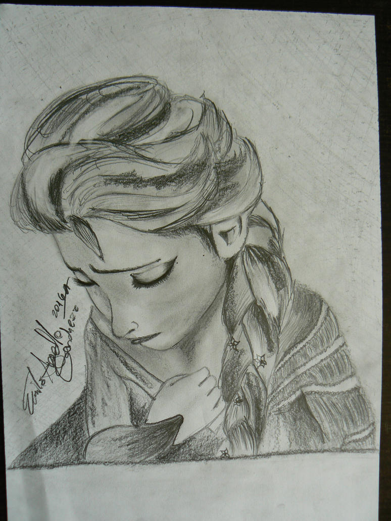 ELSA in 30MIN CHALLANGE by ESanchezz-Drawing