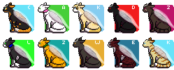 Seeking-Trueform icon batch by purrcatory