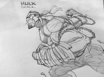 Hulk Shank by jeffagala