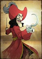 Captain Hook by jeffagala